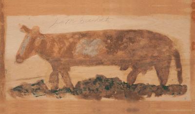 Jimmy Lee Sudduth Untitled c 1986