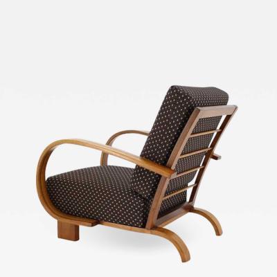 Jindrich Halabala Art Deco Armchair 1930s