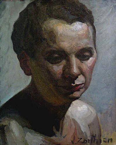 Jirayr Hamparzoom Zorthian Portrait of the Model