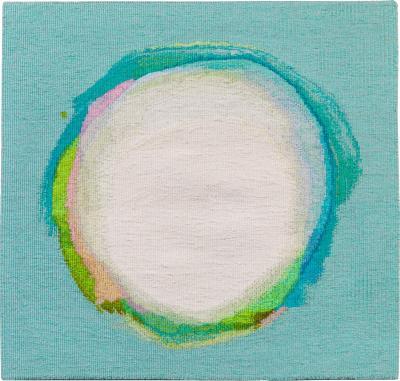 Jo Barker Float handwoven contemporary abstract tapestry by Jo Barker