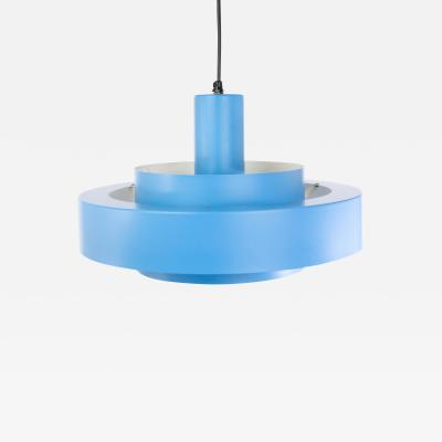Jo Hammerborg Blue Equator pendant by Jo Hammerborg for Fog M rup 1960s