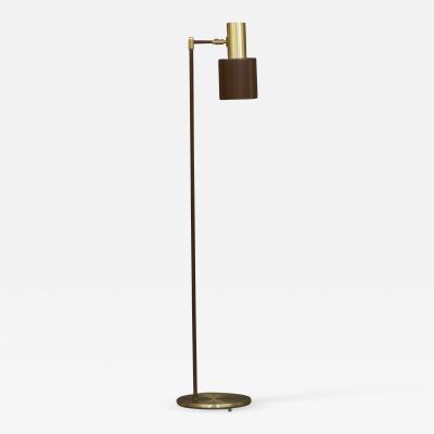 Jo Hammerborg Brass Studio floor lamp by Jo Hammerborg Denmark