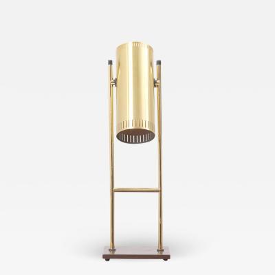 Jo Hammerborg Brass Table Lamp Trombone by Jo Hammerborg for Fog M rup Denmark 1960s