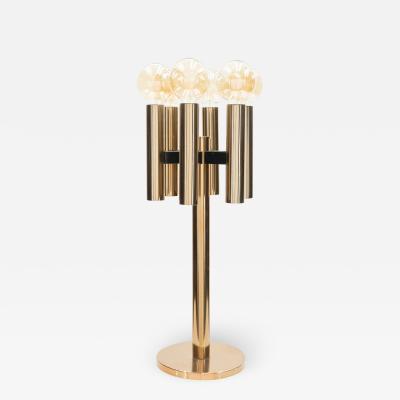 Jo Hammerborg Rare large Danish Jo Hammerborg copper table or floor lamp 1960s