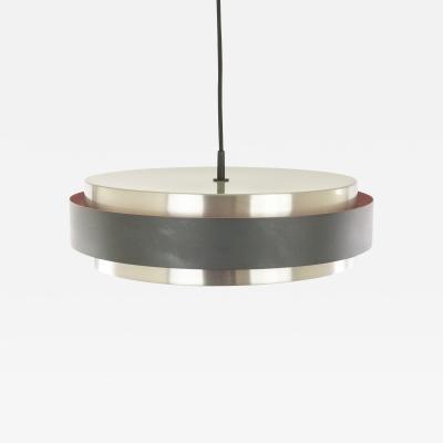 Jo Hammerborg Sera pendant in aluminium by Jo Hammerborg for Fog M rup 1960s