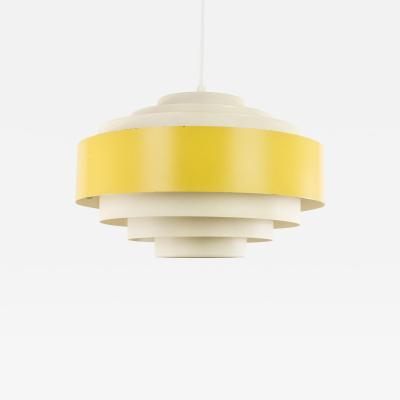 Jo Hammerborg Yellow Ultra pendant by Jo Hammerborg for Fog M rup 1960s