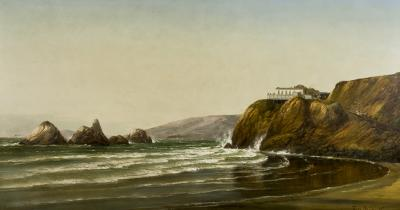 Joachim Ferdinand Richardt Cliff House San Francisco