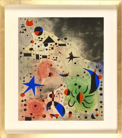 Joan Mir Joan Mir Constellations pochoirs after the paintings 1959