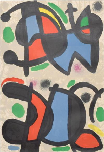 Joan Miro Prints Art Abstracts Paintings Incollect