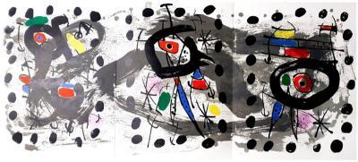 Joan Miro Joan Miro Moon Bird Sun Bird Original Lithograph 1958