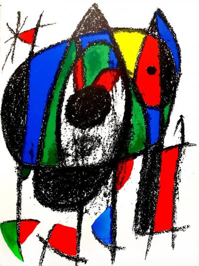 Joan Miro Joan Miro Original Abstract Lithograph 1975