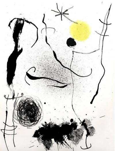 Joan Miro Joan Miro Original Colorful Lithograph 1964
