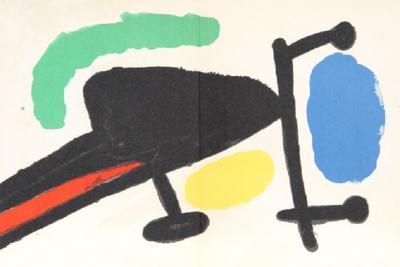 Joan Miro Joan Miro Tapis de Tarragona M 875