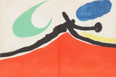 Joan Miro Joan Miro Tapis de Tarragona M 876