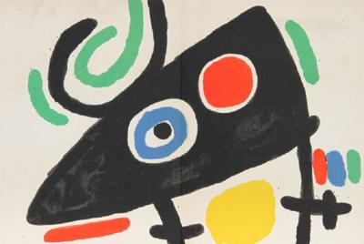 Joan Miro Joan Miro Tapis de Tarragona M 877