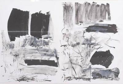 Joan Mitchell American Abstract Lithograph Joan Mitchell