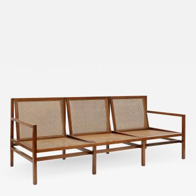 Joaquim Tenreiro Three seat sofa
