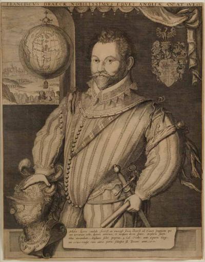 Jodocus Hondius SIR FRANCIS DRAKE