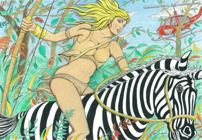 Joe Chierchio Sheena Queen of the Jungle
