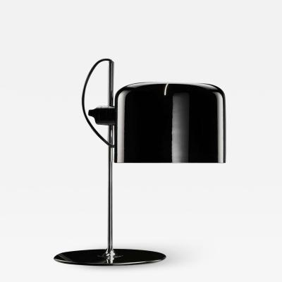 Joe Colombo Joe Colombo Model 2202 Coup Table Lamp in Black for Oluce