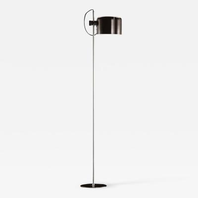 Joe Colombo Joe Colombo Model 3321 Coup Floor Lamp in Black for Oluce