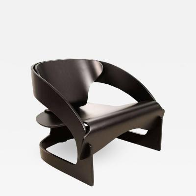 Joe Colombo Joe Colombo Painted Bent Plywood Chair 4801