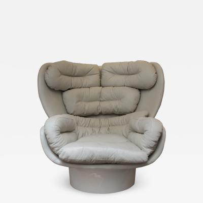 Joe Colombo Rotating Elda armchair Joe Colombo for Comfort Italy circa 1965