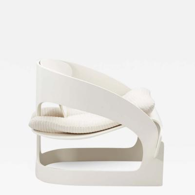 Joe Columbo Joe Columbo white 4801 chair Kartell Italy 1965