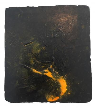Joe Goode Night Fire Painting 19