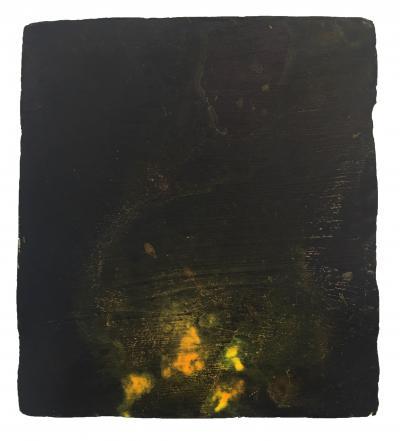 Joe Goode Night Fire Painting 22