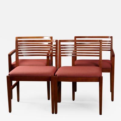 Joe Linda Ricchio Set of Four Chairs by Linda and Joseph Ricchio for Knoll Studio