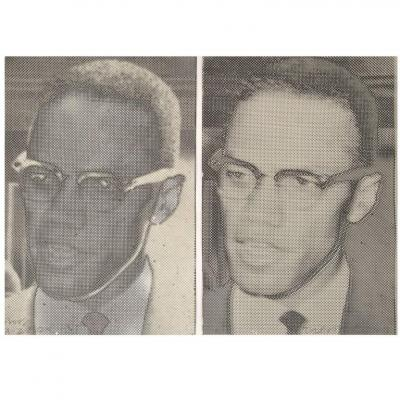 Joe Tilson Joe Tilson Malcolm X Screen Prints