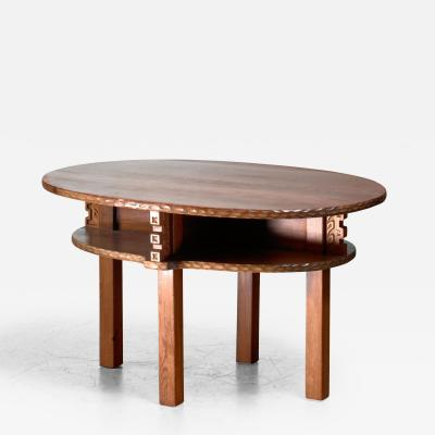 Joel Norborg Joel Norborg pine coffee table Sweden 1917