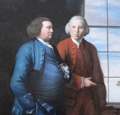 Johan Zoffany The Hopkins Family Very Large 18th Century English Oil Painting