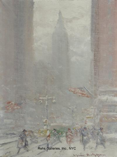 Johann Berthelsen 23rd Street Looking North Empire State Building