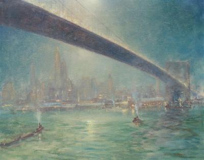 Johann Berthelsen Bridge Nocturne