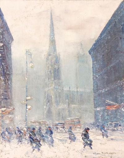 Johann Berthelsen Grace Church New York