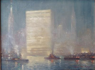 Johann Berthelsen New York Harbor