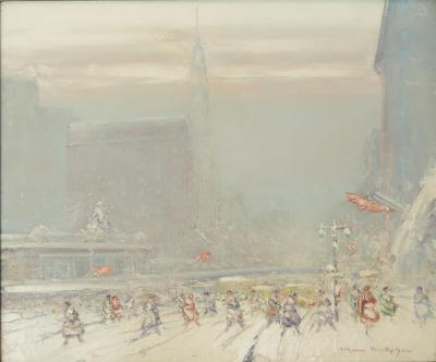 Johann Berthelsen Winter Storm NYC