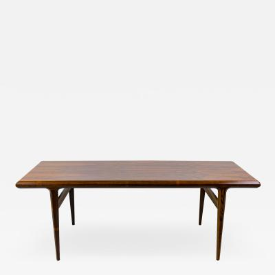 Johannes Andersen Coffee table in rosewood 1960s