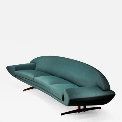 Johannes Andersen Johannes Andersen Capri sofa for Trensum 1960s