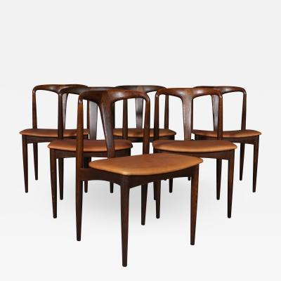 Johannes Andersen Johannes Andersen Dining chairs model Juliane 6