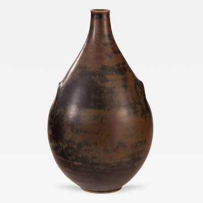Johannes Hedegaard Johannes Hedegaard for Royal Copenhagen Large and Rare Stoneware Vase