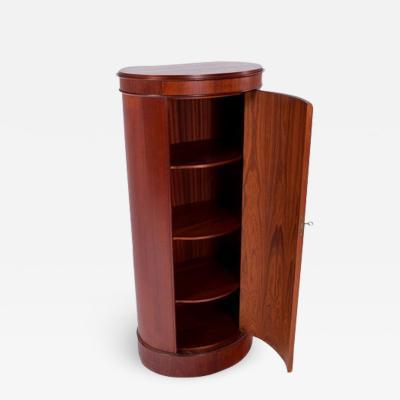 Johannes Sorth Bornholm Midcentury Johannes Sorth Pedestal Bar Cabinet by Bornholms M belfabrik 1960s