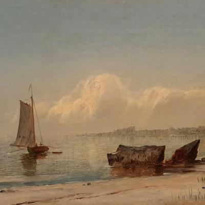 John Adams Parker Heading out to Sea n d