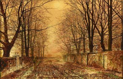 John Atkinson Grimshaw Golden Idyll