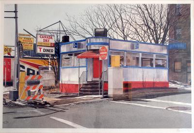 John Baeder T Diner