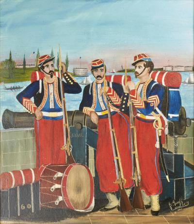 John Bernt Graff The Chicago Zouaves