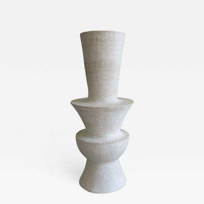 John Born Ceramic Vase Fledgling by John Born