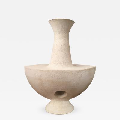 John Born Sculptural Pottery Vase by John Born